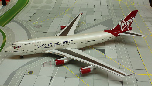 1:200 Virgin Atlantic B747- ...