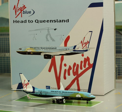 1:200 Virgin Blue B737-800