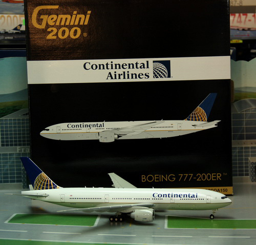 1:200 Continental Airlines  ...