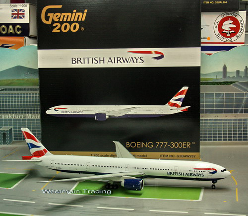 1:200 British Airways B777- ...