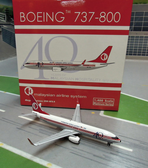 1:400 Malaysia Airlines B73 ...