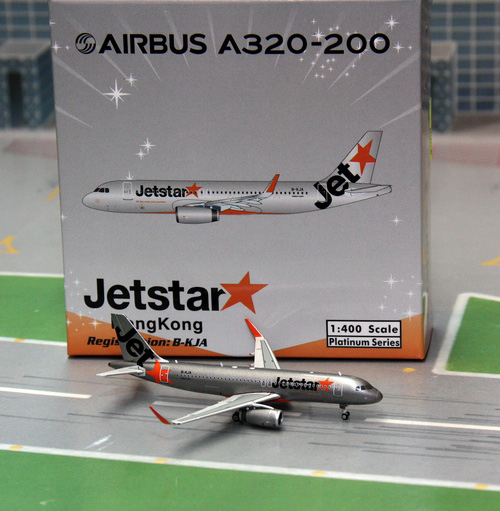 1:400 Jet Star Hong Kong A3 ...