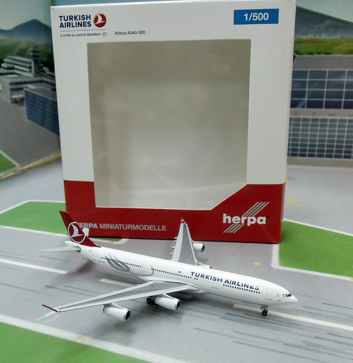 1:500 Turkish Airlines A340 ...