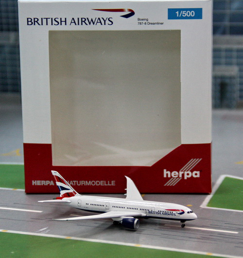 1:500 British Airways B787- ...