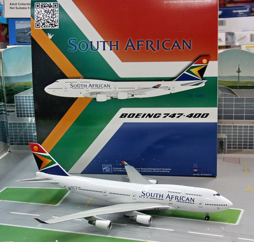 1:200 South African B747-40 ...