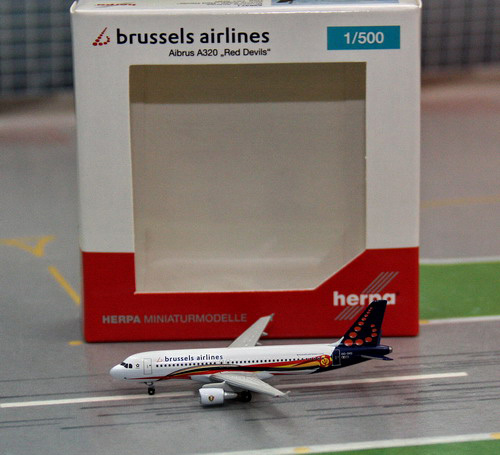 1:500 brussels Airlines A32 ...