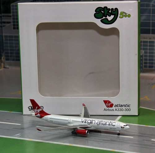 1:500 Virgin Atlantic A330- ...