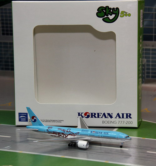 1:500 Korean Air B777-200