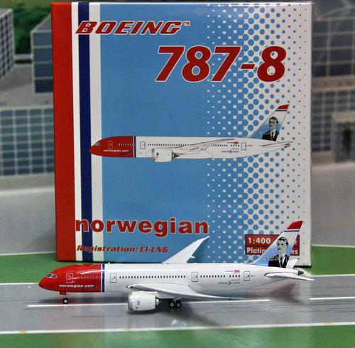 1:400 Norweigian Air B787-8