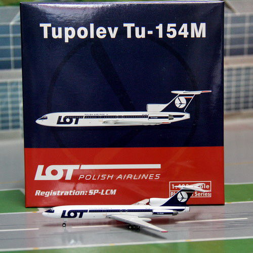 1:400 LOT Polish Airlines T ...