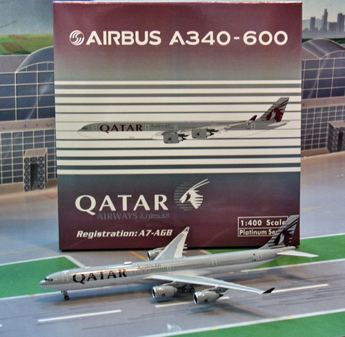 1:400 Qatar Airways A340-60 ...