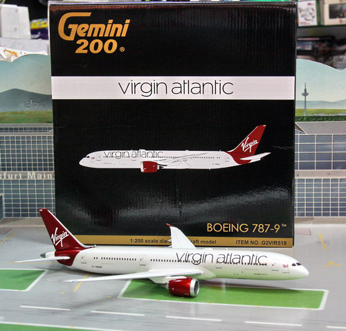1:200 Virgin Atlantic B787- ...