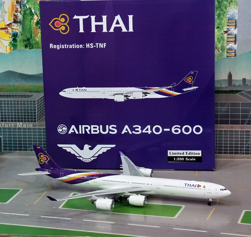 1:200 Thai Airways A340-600