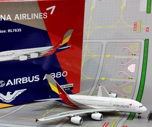 1:200 Asiana Airlines A380