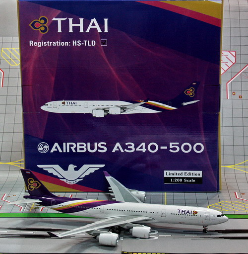 1:200 Thai Airways A340-500