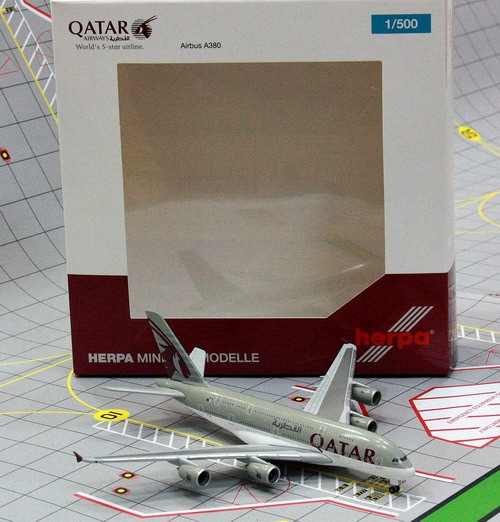 1:500 Qatar Airways A380