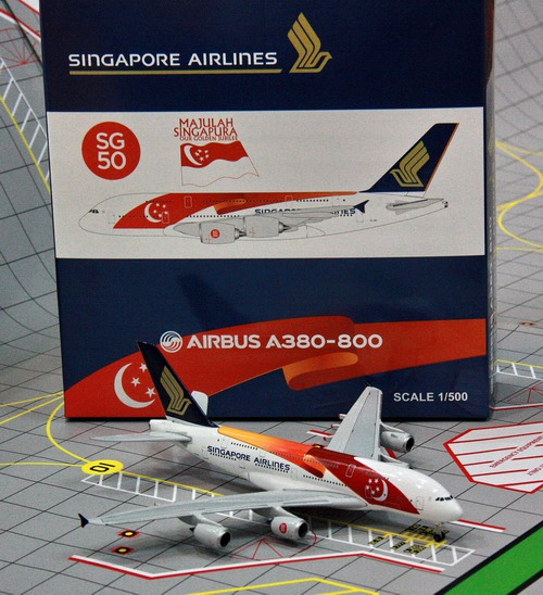1:500 Singapore Airlines A3 ...
