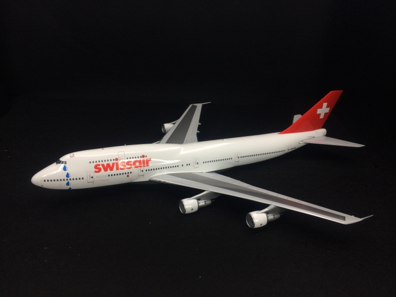 1:200 Swissair B747-300