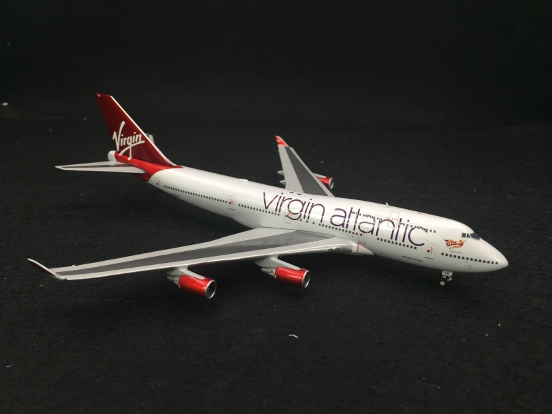 1:400 Virgin Atlantic B747- ...