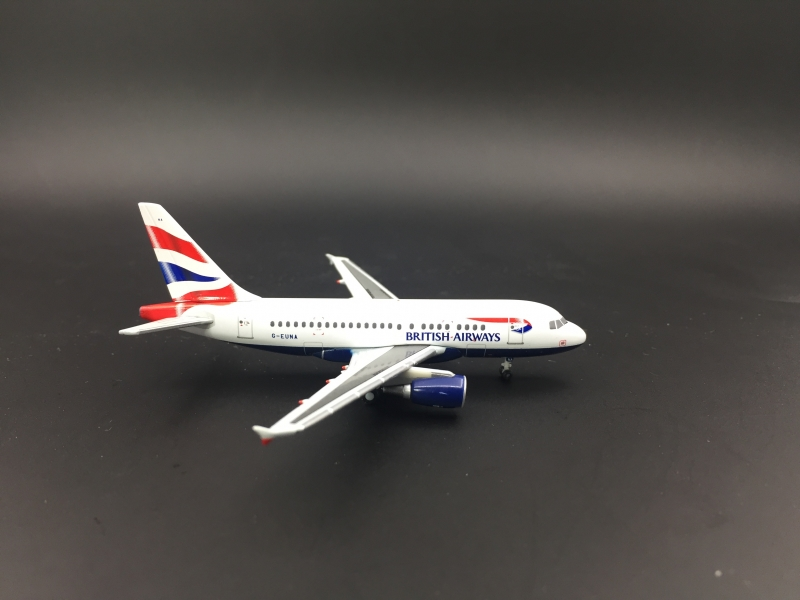 1:400 British Airways A318
