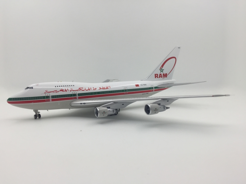 1:200 Royal Air Maroc B747- ...