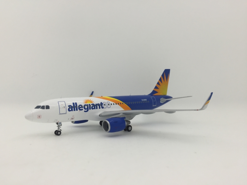 1:200 Allegiant Airlines A319 (New Lively,Sharklets Winglet)