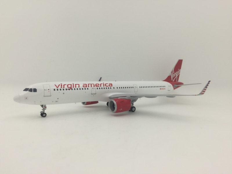 1:200 Virgin America Airlin ...