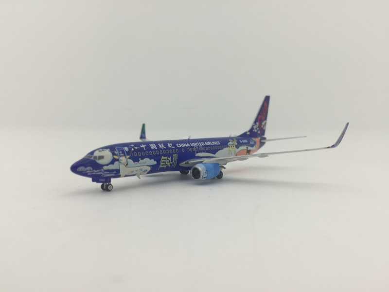 1:400 China United Airlines B737-800