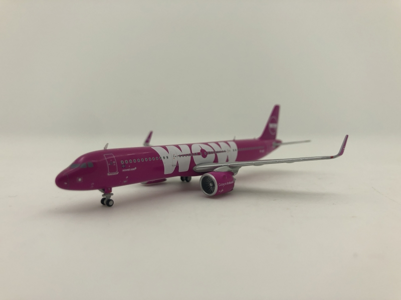 1:400 WOW Airlines A321 neo
