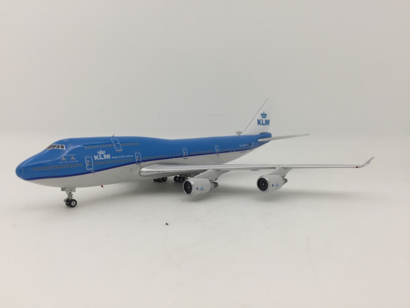 1:400 KLM B747-400 (Panda Xing Ya and Wu Wen Lively)