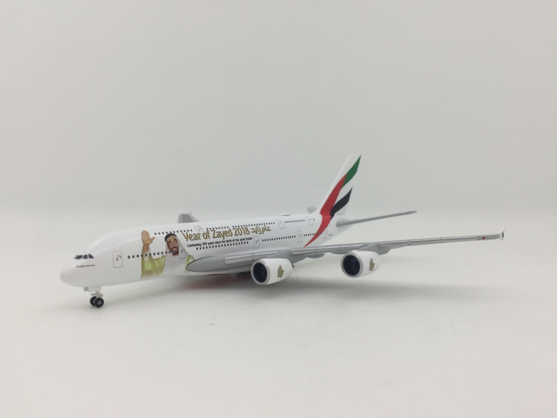 1:500 Emirates A380-800 (Years of Zayed Lively)