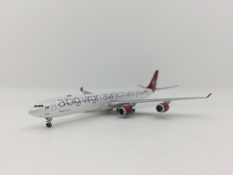 1:400 Virgin Atlantic A340-600 (A Big Virgin Atlantic Thank You Lively)