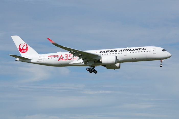 1:400 JAL A350-900 ( Red) ( ...