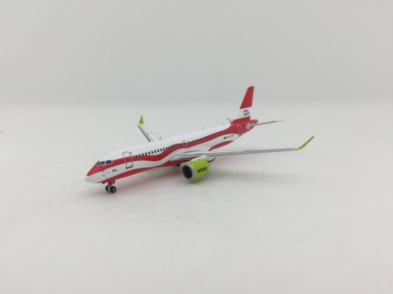 1:400 Air Baltic A220-300 (Latvia 100 Years)