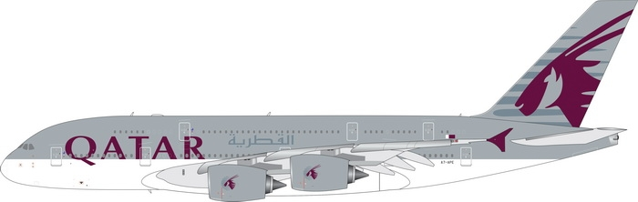 1:400 Qatar Airways A380-80 ...