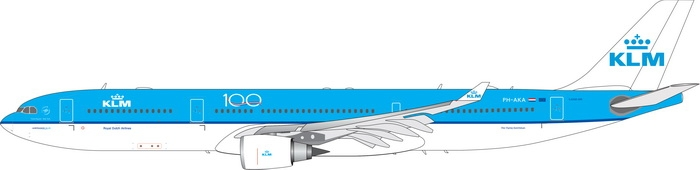 1:400 KLM A330-300 100 Year ...
