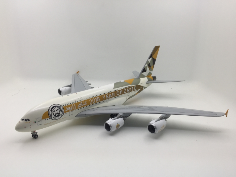 1:200 Etihad Airways A380