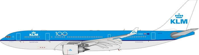 1:400 KLM A330-200