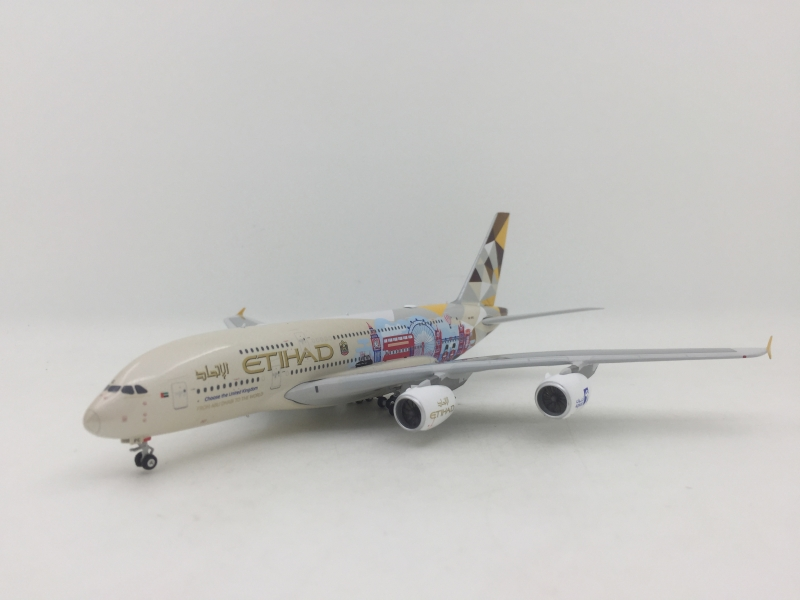 1:400 Etihad Airways A380