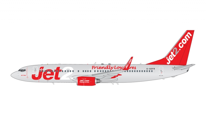 1:200 Jet2 B737-800 (Pre Or ...
