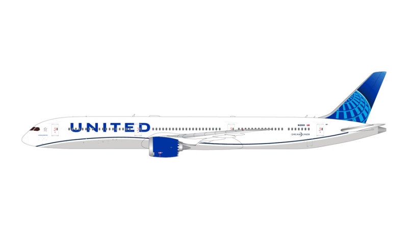 1:200 United Airlines B787- ...