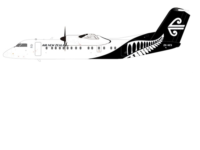 1:200 Air New Zealand Dash8-Q300