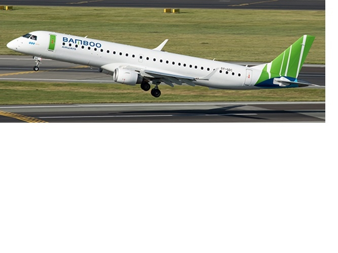 1:200 Bamboo Airways ERJ-19 ...