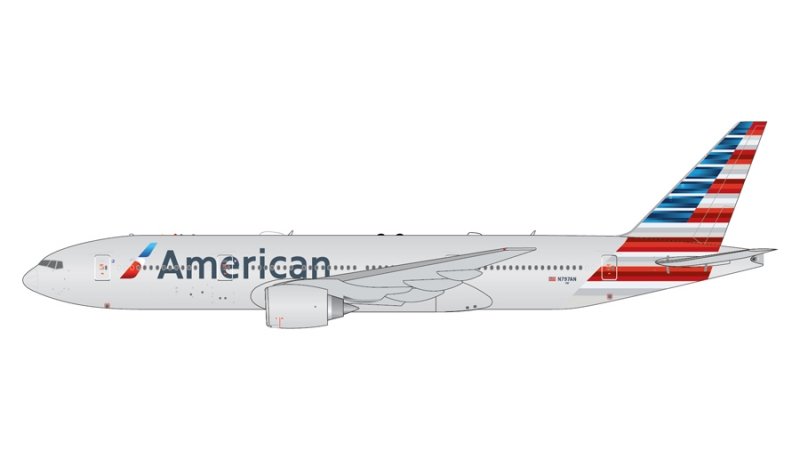 1:400 American Airlines B77 ...