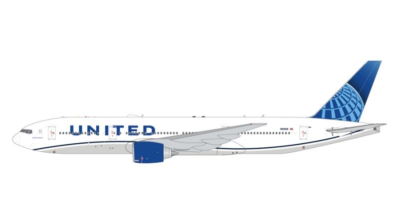 1:400 United Airlines B777- ...