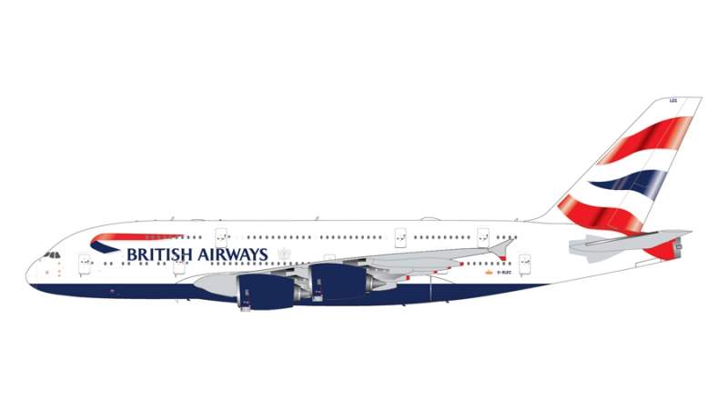 1:200 British Airways A380