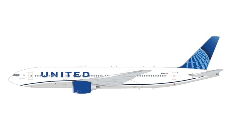1:200 United Airlines B777- ...