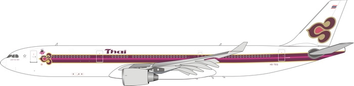 1:400 Thai Airways A330-300
