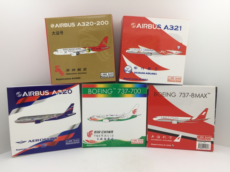1:400 Aeroflot A320 , Air C ...