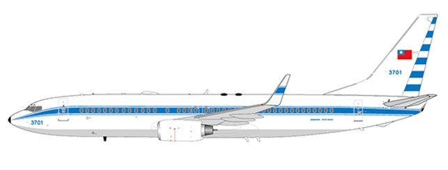 1:200 Taiwan Air Force B737 ...